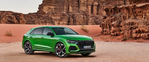 Audi's most powerful SUV coupe, the new Audi RS Q8 roars into India