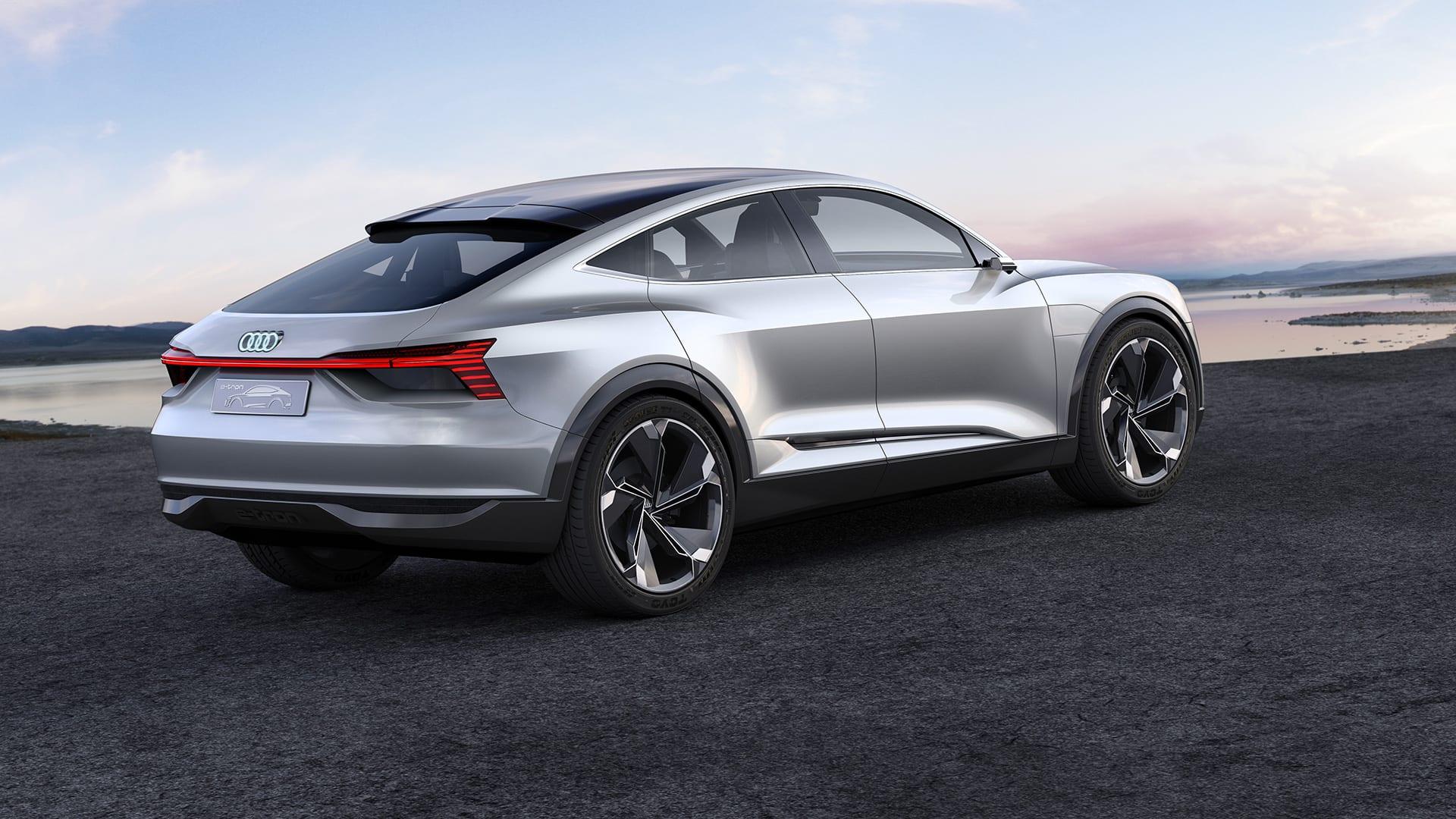 Audi E Tron Sportback Concept Tron Audi India